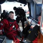 Jan briefar Karl om senaste dyker.